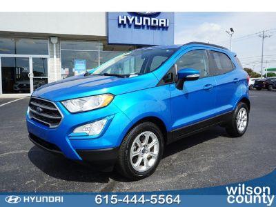 2018 Ford EcoSport (blue)