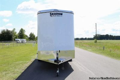 2015 Shadow 3 horse trailer bumper pull