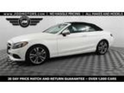 Used 2018 Mercedes-Benz C-Class White, 24.8K miles
