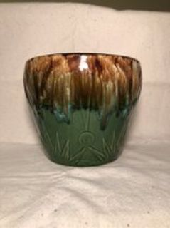 McCoy Pottery Planter Moon Sun