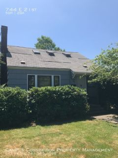 5 bedroom South Campus home with 2 kitchens, garage, and fenced yard - available July!