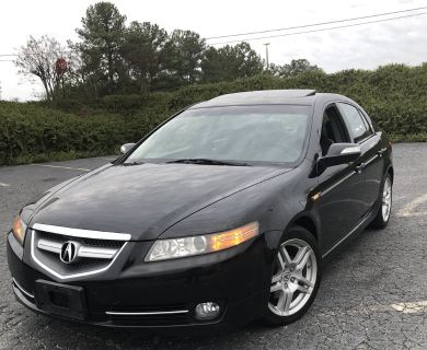 2008 Acura TL Base (Black)