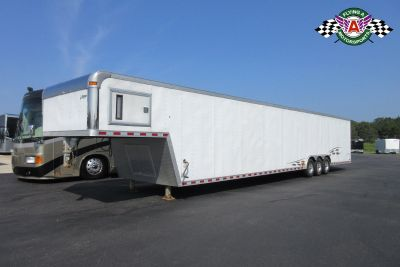 2004 Pace American 48' Shadow GT Gooseneck Race Trailer
