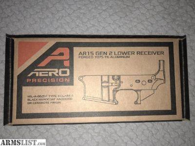 For Sale: Aero precision Gen 2 lower reciever for sale