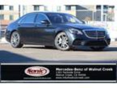 Used 2018 Mercedes-Benz S-Class Magnetite Black Metallic, 331 miles