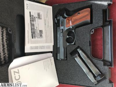For Sale: CZ 99021 RARE CZ 75 compact steel frame P-01