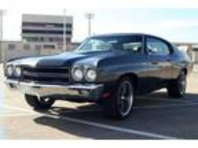 1970 Chevrolet Chevelle Coupe 454 Ghost Stripes