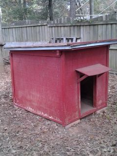 Extra Large Dog House/Treated Wood/Shingle Roof
