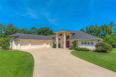 6240 Old Castle Way Conroe Four BR, Custom single-story home