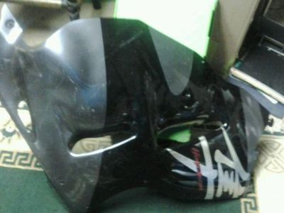 Sell 99-07 GSX1300R 1300 Hayabusa Suzuki Right Side Fairing Mid Lower OEM Black motorcycle in Marietta, Georgia, US, for US $165.00