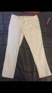 White mossimo jeans