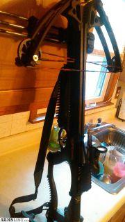 For Sale: Barnett RAPTOR Crossbow/bolts n broadheads/target