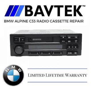 Sell BMW E36 318i 323is 325i Alpine C33 Radio Cassette Tape Stereo Repair Service motorcycle in Riverside, California, United States, for US $64.95