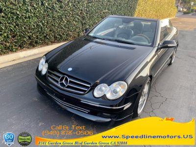 2006 Mercedes-Benz CLK-Class CLK350 (black)