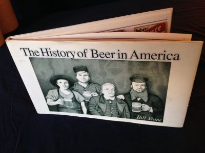 "The History of Beer in America ""Great Information & Illustrations/Perfect ""Coffee Table Book"""