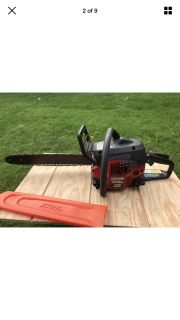 "18"" CRAFTSMAN Gas Powered 42 cc CHAINSAW 18 Inch With ROLLER NOSE Bar"