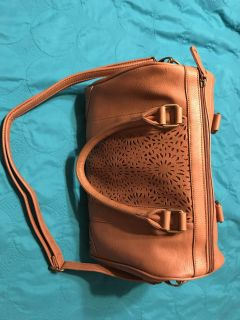 Purse tan 10 deep 14 long 7 width New Without tags!