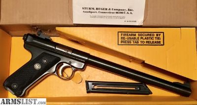 For Sale: Ruger MKII 10 Bull 1989