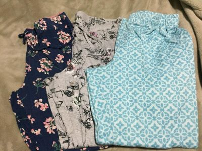 Size L pajama pants. $5 for all 3