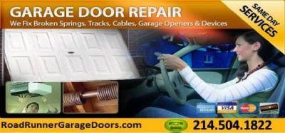 Broken Garage Door Spring Repair Frisco, TX