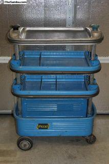 "1960's Hazet Assistant 162 Tool Cart ""a"""