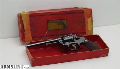 For Sale: Pre War Smith & Wesson K-22 with Box 96%