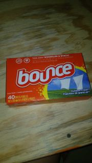 Bounce dryer sheets 40 count