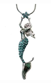 Mermaid necklace 18 in