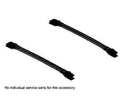 Purchase 2011-2013 TOYOTA SIENNA CROSS RAILS OEM TOYOTA ACCESSORY **NEW** motorcycle in Waterford, Michigan, US, for US $119.95