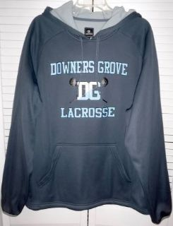 Like New! Downers Grove LaCrosse Champion Pullover Hoodie Jacket