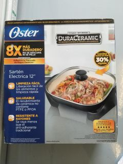 Oster Electric skillet new in box