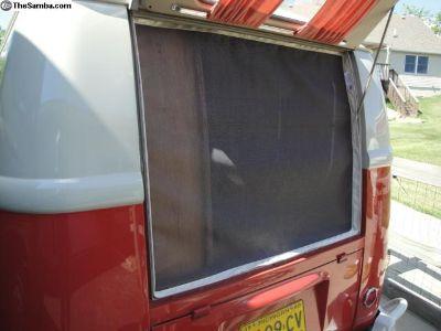 Rear Hatch Bug Screen / Net 55-63 VW BUS