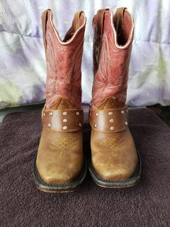 Cowboy/riding boots size 1