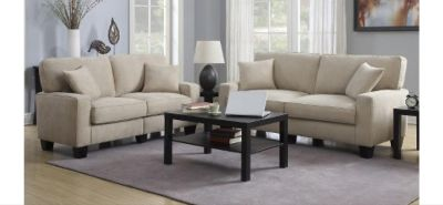 Serta Couch & Loveseat with Tables