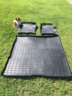 Ford Expedition front FLOOR LINERS + Cargo LIner