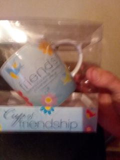 Friendship Mug Still In The Package never been used once