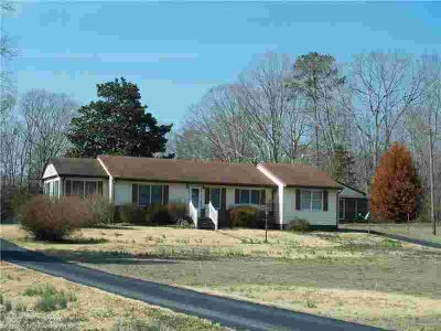 789 Mill Creek RD Wake, 2 BR, 1 BA home on 3 ac.
