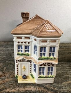 Vintage Avon Townhouse Canister