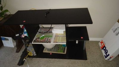 TV Table with shelf