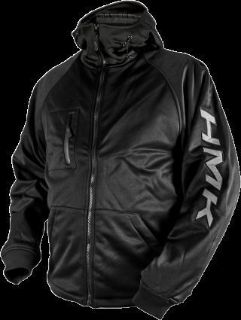 Purchase HMK Hooded Tech Shell Jacket Black motorcycle in Holland, Michigan, United States, for US $125.95