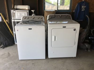 Brand New Maytag Washer & Dryer