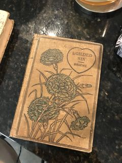 Antique book from late 1800s