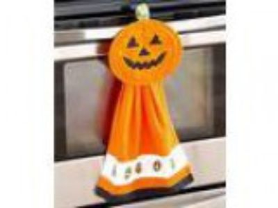 -Pc. Halloween Kitchen Set (Orange Pumpkin)