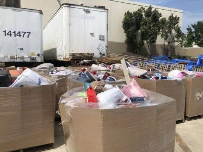 20 pallets of home goods bedding & blankets wholesale surplus closeout