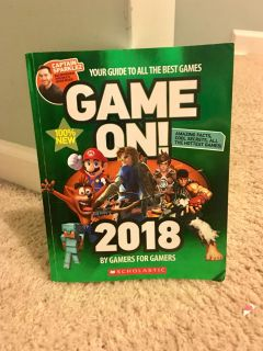 Game On 2018!! Instructional booklet & tons of gamin tips for every game!!