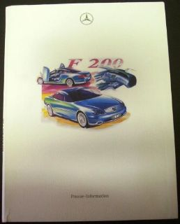 Buy Mercedes-Benz F 200 Concept Car Press Kit 1996 Paris Motor Show German Text Rare motorcycle in Holts Summit, Missouri, United States, for US $59.98
