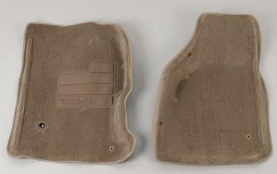 Buy Nifty Catch-All Floor Protectors Mats 606672 Front Beige Tacoma motorcycle in Tallmadge, Ohio, US, for US $85.97
