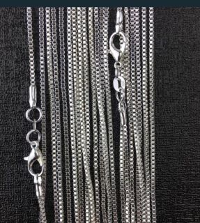 Beautiful 925 Silver necklaces only $35 each or 2 for $60