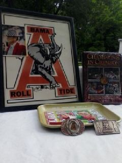 "Paul ""BEAR"" Bryant Collectible Vintages Goods($400.)"
