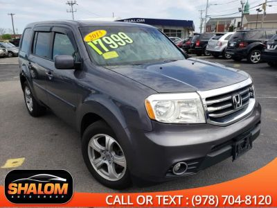 2015 Honda Pilot EX-L 4-Door 4WD SUV with The Honda Rear DVD Entert (Modern Steel Metallic)
